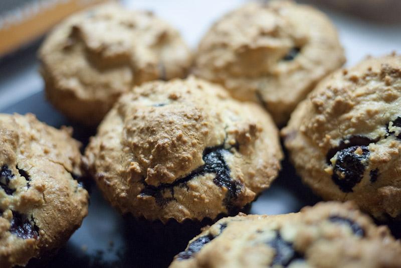 Upečené muffiny