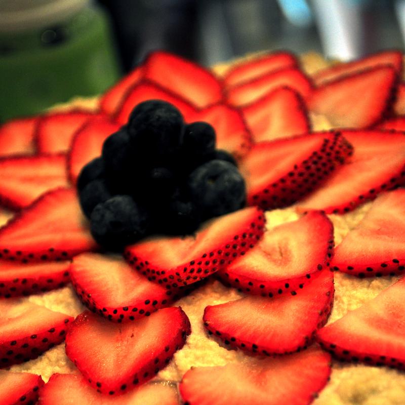 paleo narozeninový dort