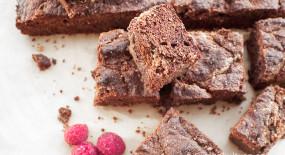 Brownies s burákovým máslem