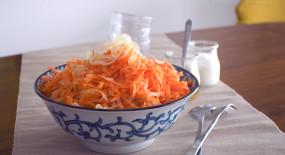 Rychlý mrkvový salát